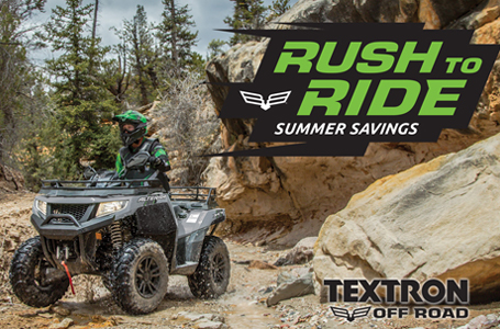 Rush to Ride Summer Savings