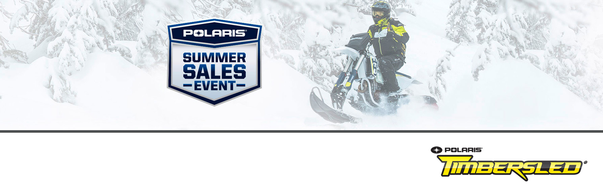 Timbersled: Timbersled Summer Sales Event
