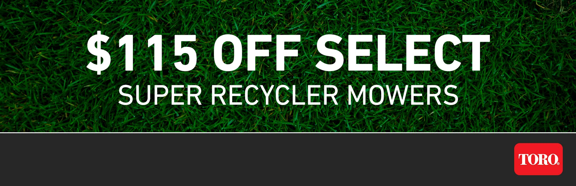 Toro: $115 CAD OFF Select Super Recycler Mowers