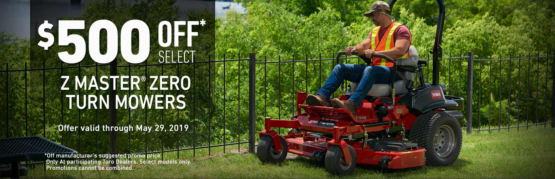 Toro: $500 Off Select ZMaster7000 Mowers
