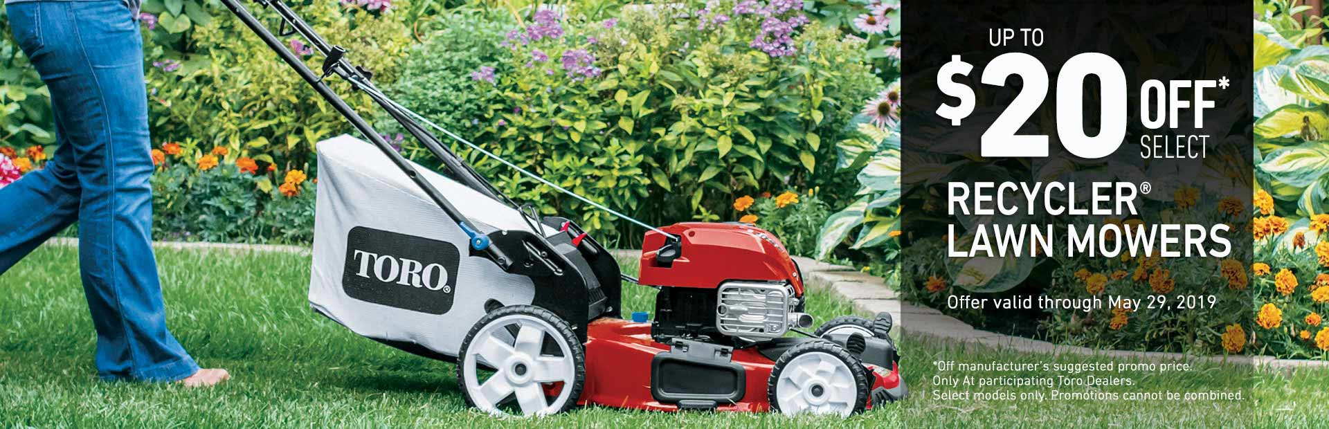 Toro: $20 Off Select Recycler Mowers