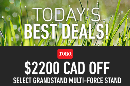 $2200 CAD Off Select GrandStand MULTI-FORCE Stand