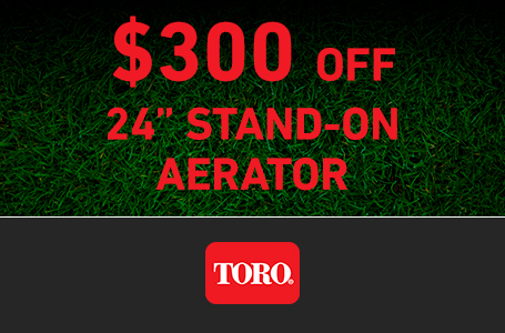 LS - $300 USD Off Turf Renovation 24-Inch