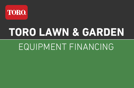 Lawn & Garden Equipment Financing