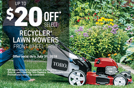$20 Off FWD High Wheel Recyclers