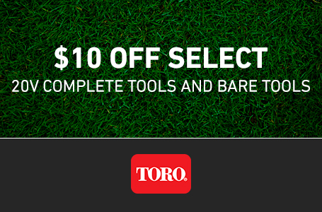 $10 Off Select 20V Complete Tools and Bare Tools