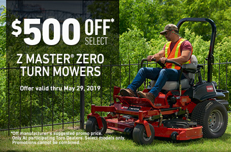 $500 Off Select ZMaster5000 and ZMaster5000 MyRIDE