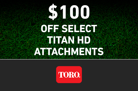 RE - $100 Off TITAN HD Attachments