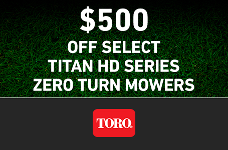 RE - $500 Off TITAN HD Mowers