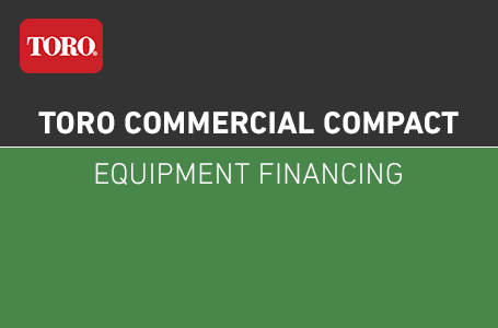Toro Commercial Compact Equipment Financing