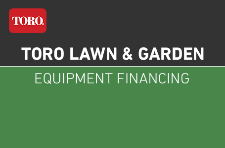 Toro Lawn & Garden Equipment Financing