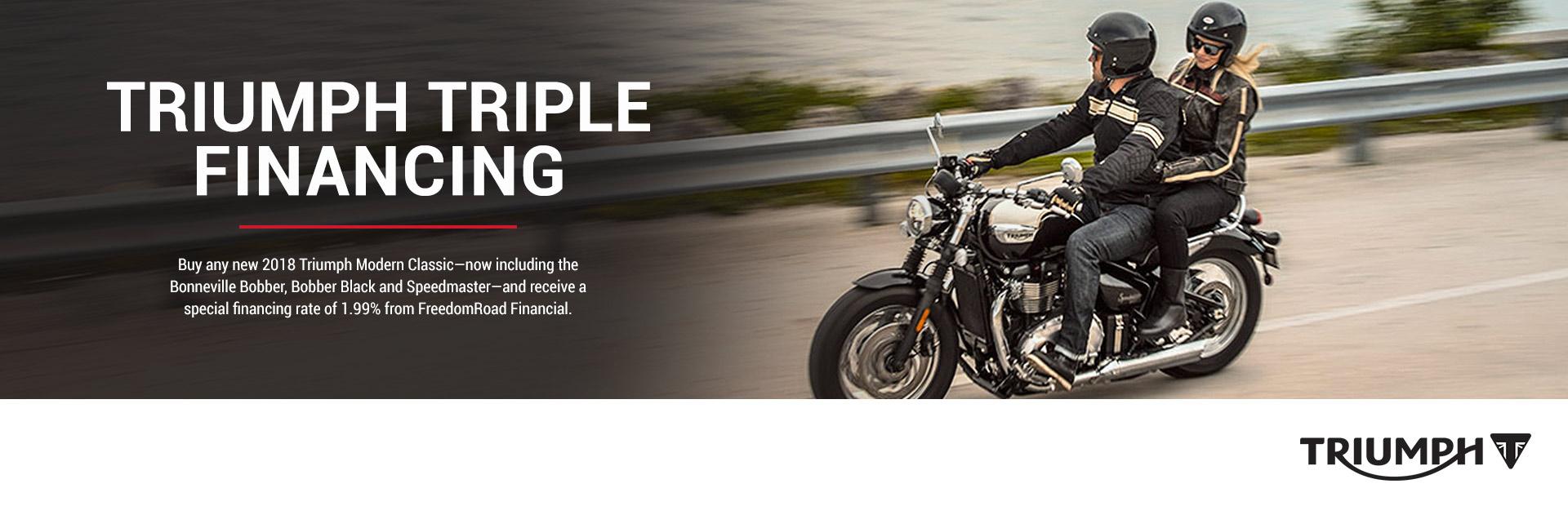Triumph: Triumph Triple Financing
