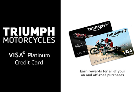 Triumph Visa® Platinum Credit Card