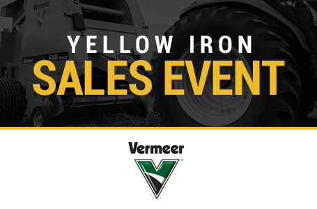 Yellow Iron Sales Event