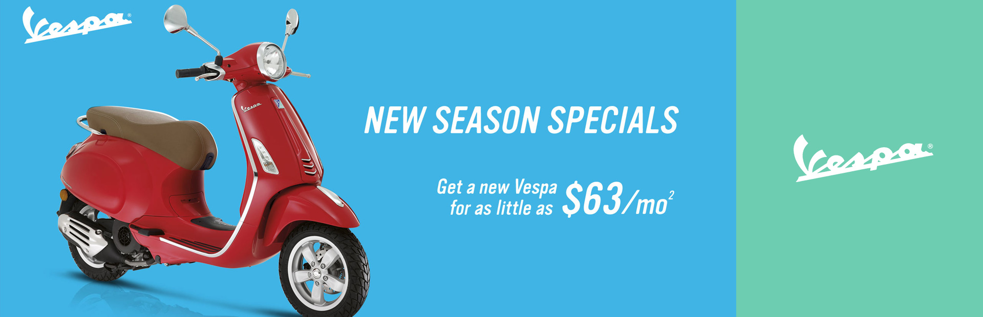Vespa: New Season Specials