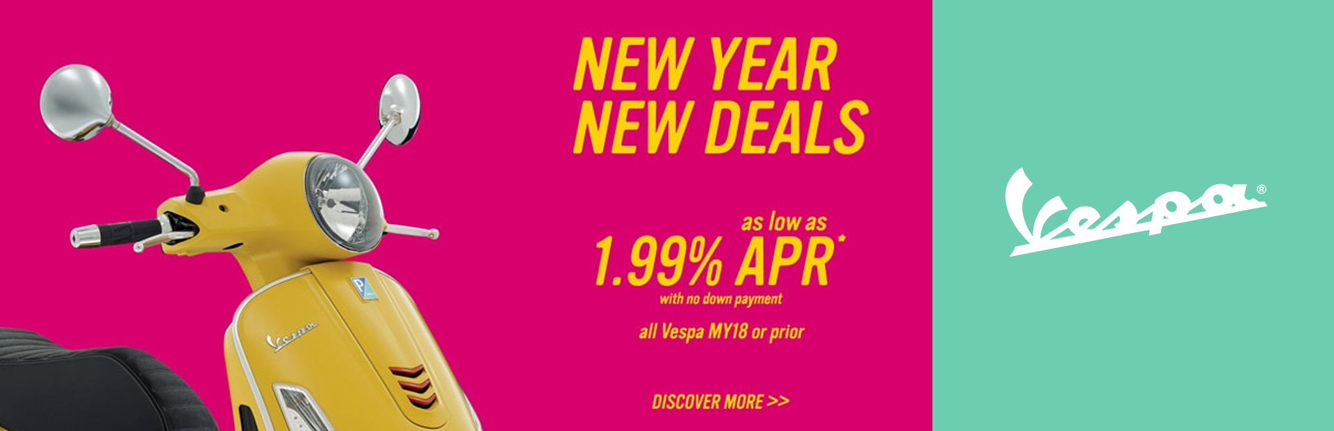 Vespa: New Year New Deals