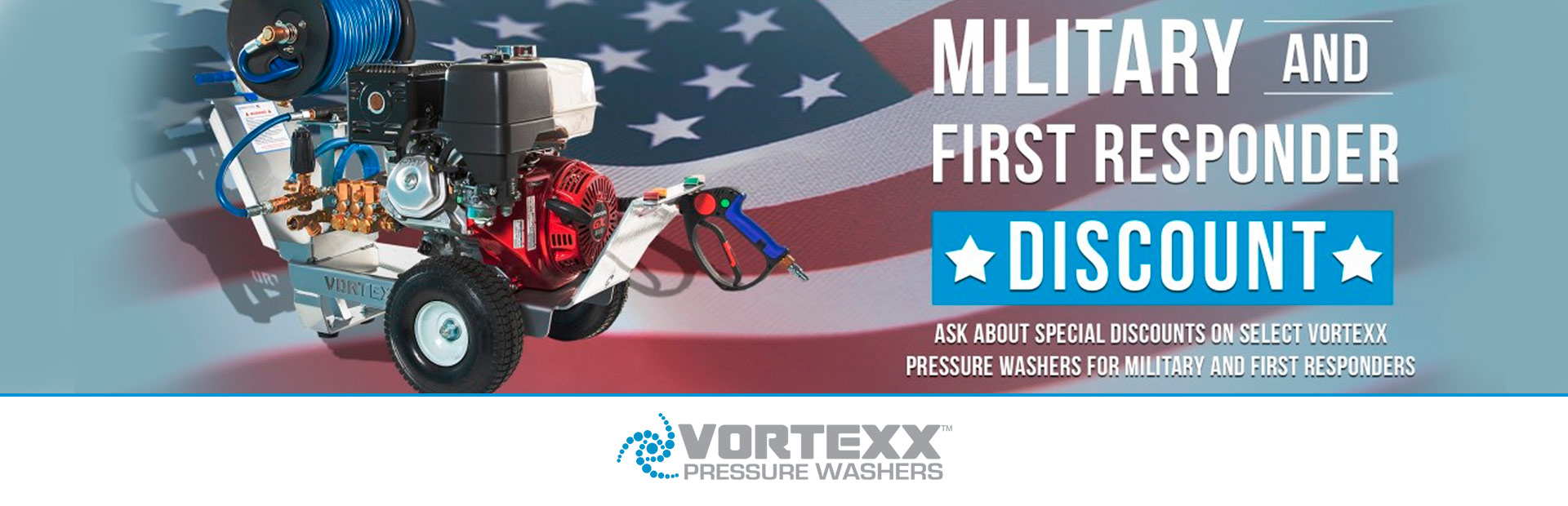 Vortexx: Military Service & First Responder Appreciation
