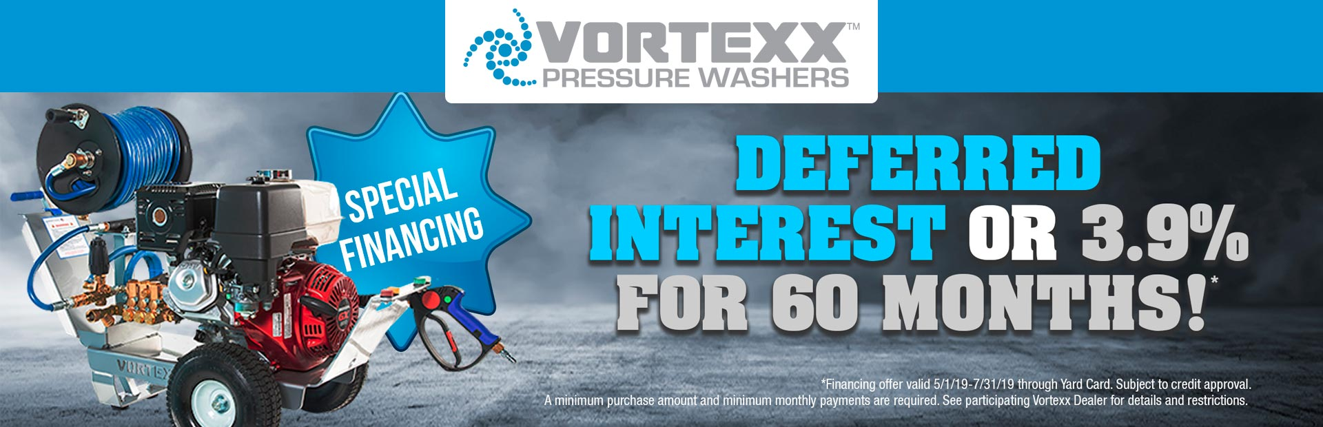 Vortexx: Special Financing - Deferred Interest