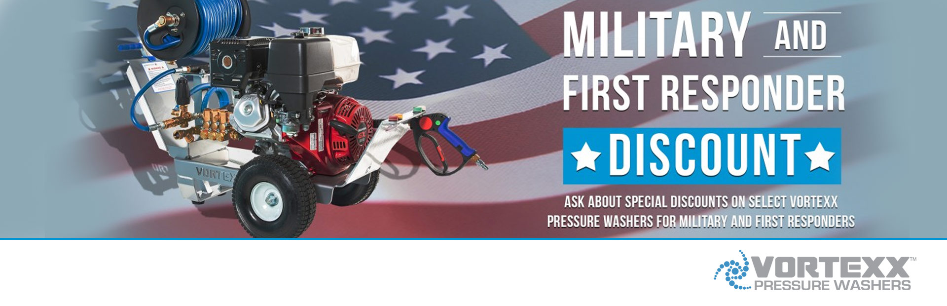 Vortexx: Military and First Responder Discount