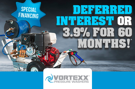 Vortexx - Financing Deferred interest