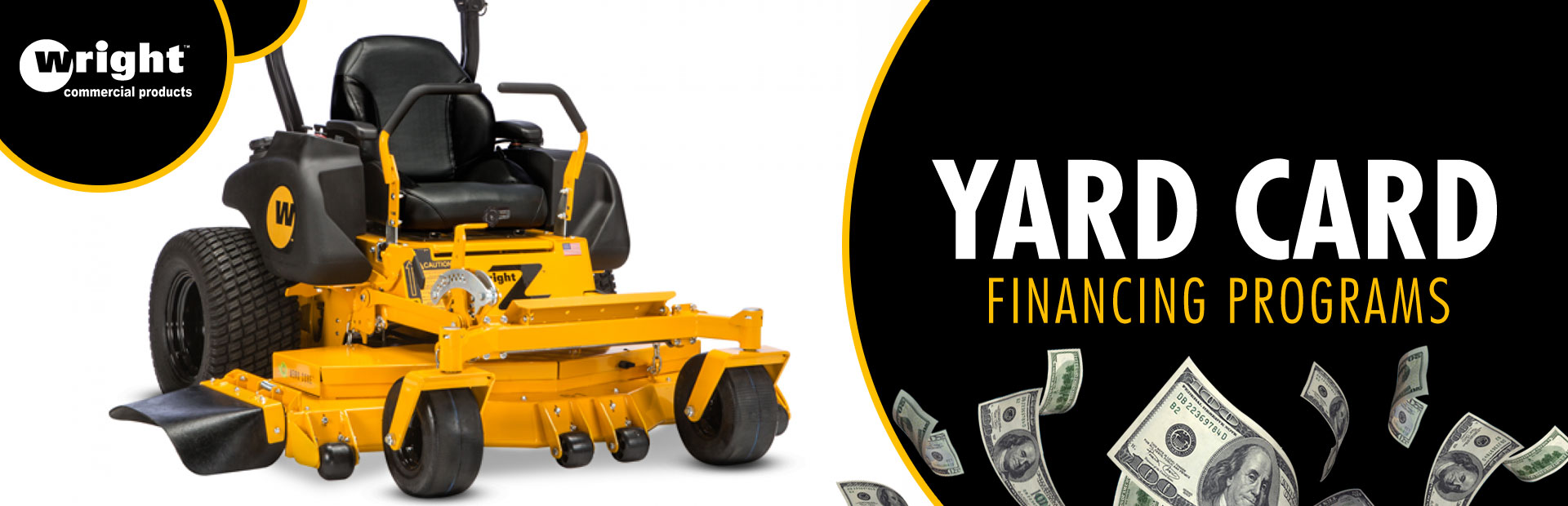 Wright: Wright - Yard Card Financing Programs