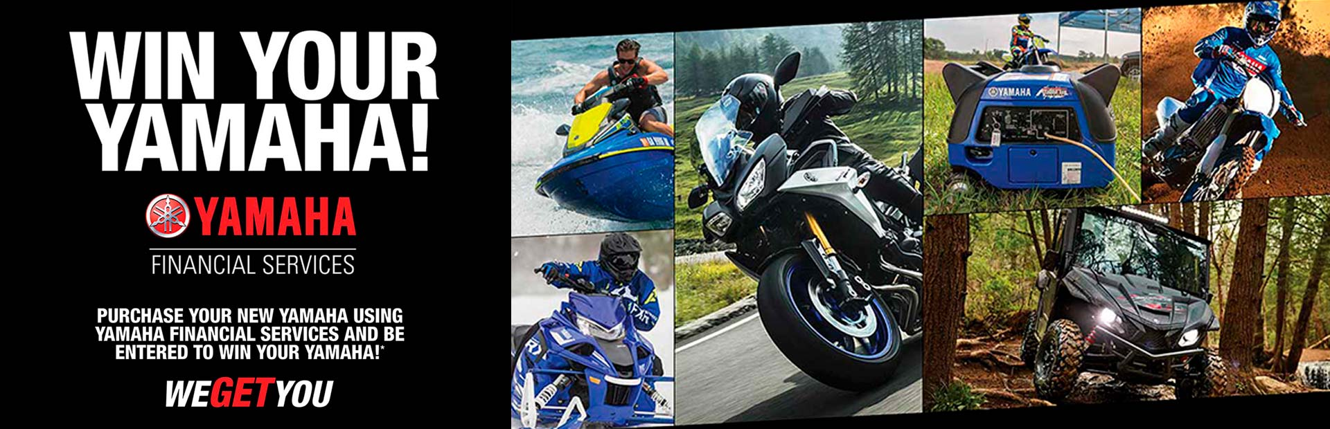 Yamaha: Win Your Yamaha