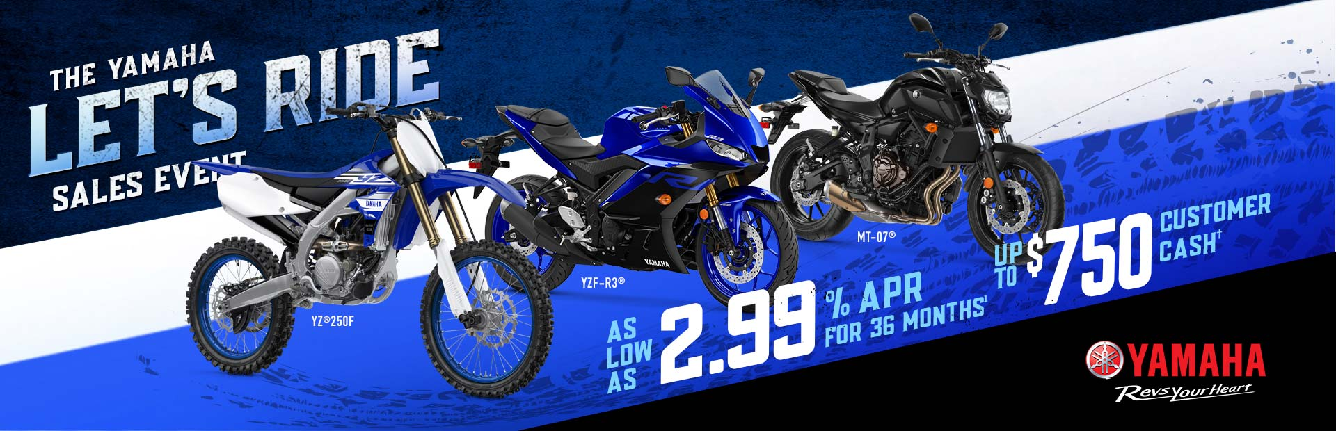 Yamaha: THE YAMAHA LET'S RIDE SALES EVENT