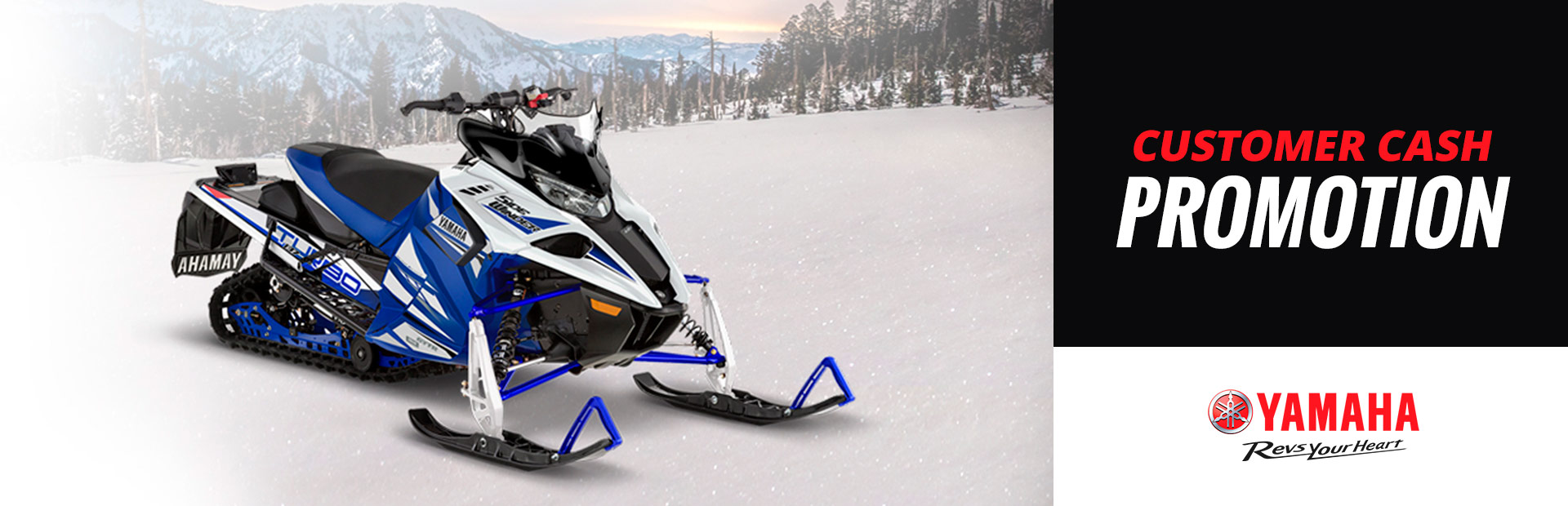 Yamaha: Customer Cash - Snowmobile