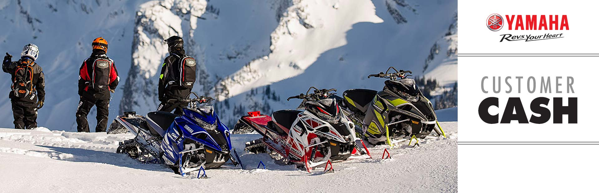 Yamaha: Customer Cash (Snowmobile, SxS)