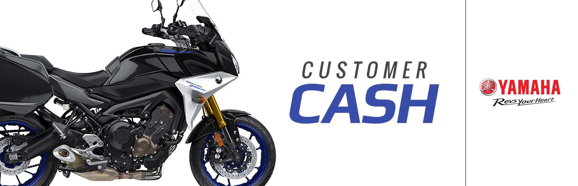 Yamaha: Customer Cash (ATV, SxS, Motorcycle)