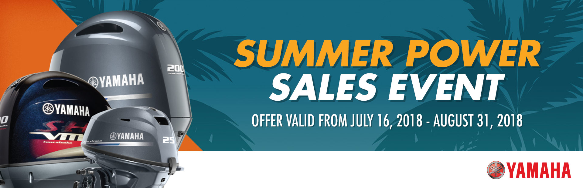 Yamaha: Summer Power Sales Event