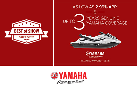 Best of Show - As Low As 2.99% APR