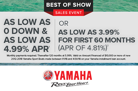Best of Show Sales Event