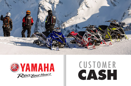 Customer Cash (Snowmobile, SxS)