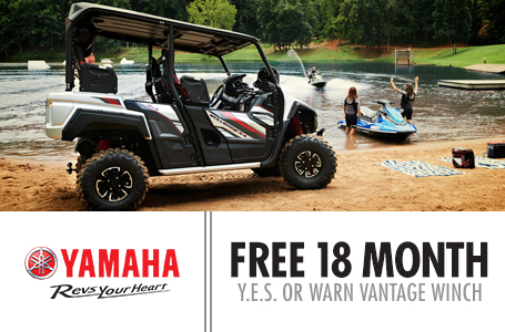 Free 18 Month Y.E.S. - OR - Warn Vantage Winch