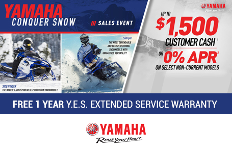 Free 1 Year Y.E.S. Extended Service Warranty