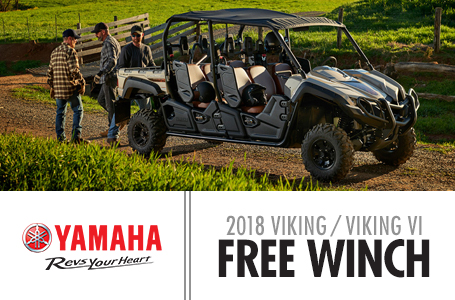 2018 Viking / Viking VI Free Winch Promotion (SxS)