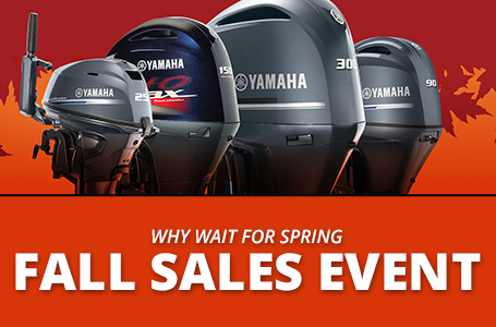 Why Wait For Spring - Fall Sales Event