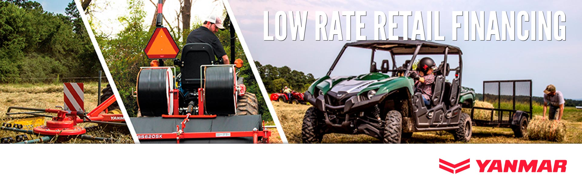 Yanmar USA: Low Rate Retail Financing