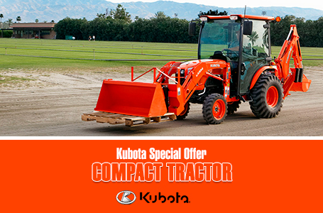 Kubota Special Offer - Compact Tractor