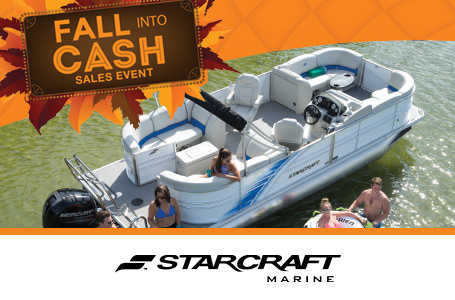 Fall Into Cash Sales Event - Up To $2500 Cash Back