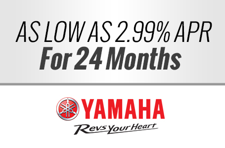 As Low As 2.99% APR For 24 Months