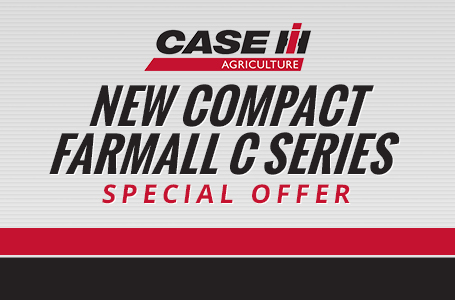 New Compact Farmall C Series Special Offer