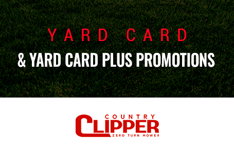 Yard Card & Yard Card Plus Promotions