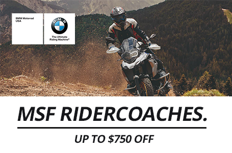 MSF RiderCoaches Up To $750 Off