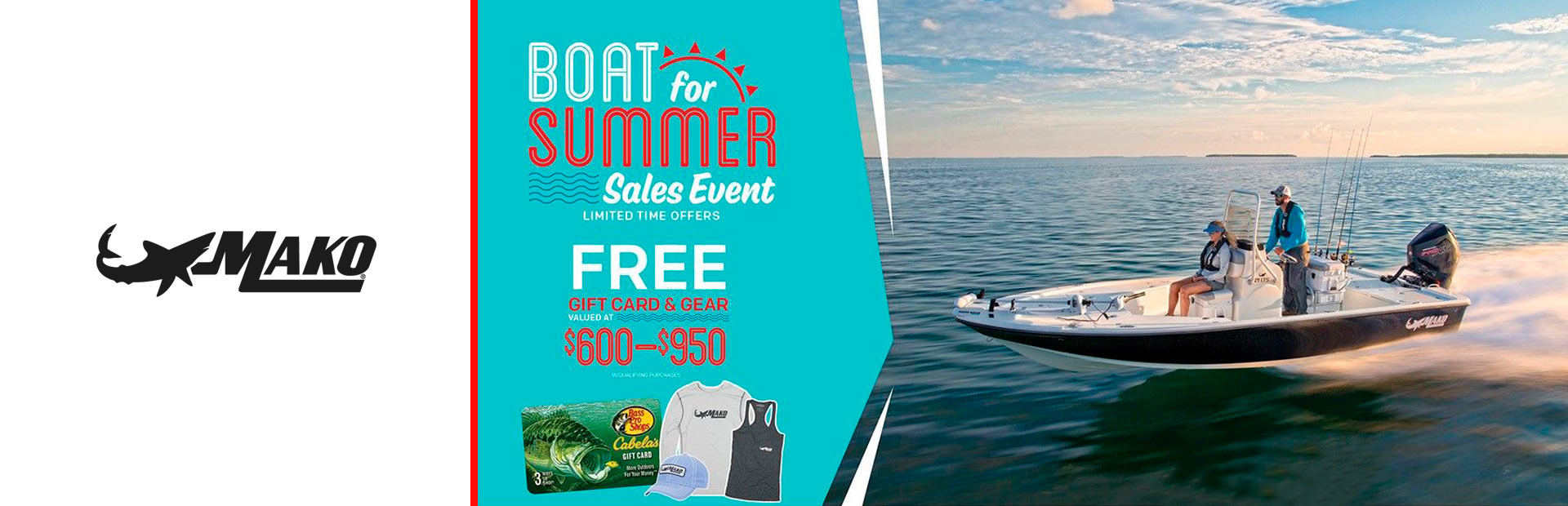 Mako: Boat For Summer Sales Event