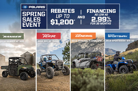 Polaris Spring Sales Event (Off-Road)