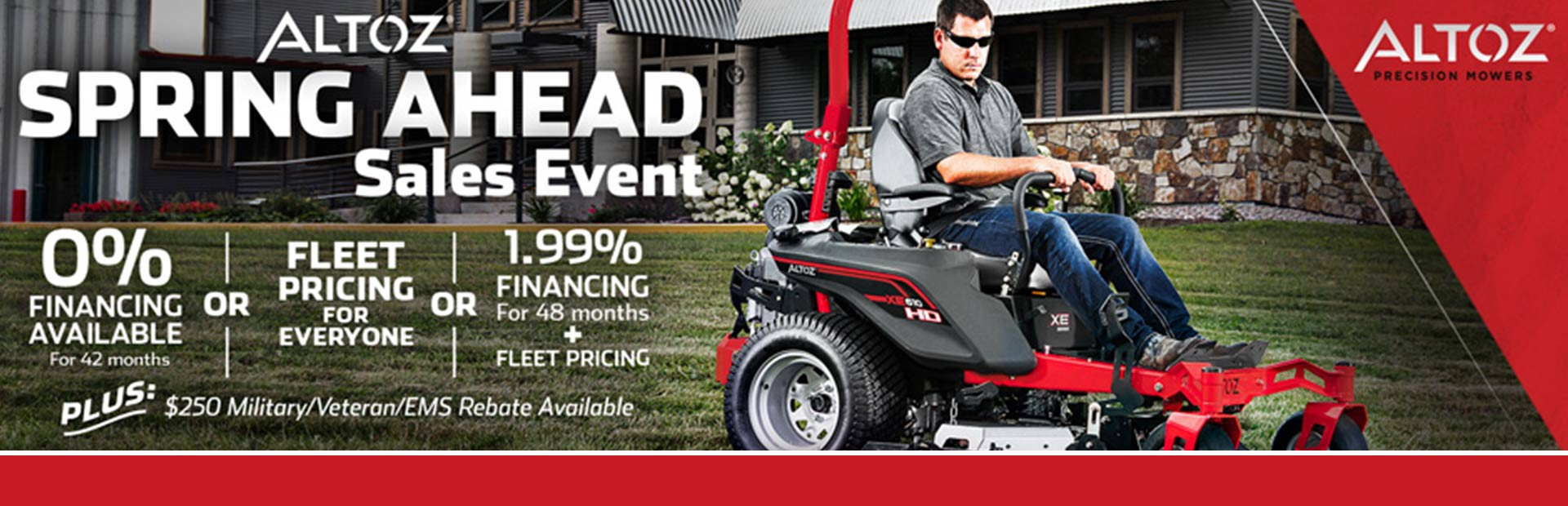 Spring Ahead Sales Event