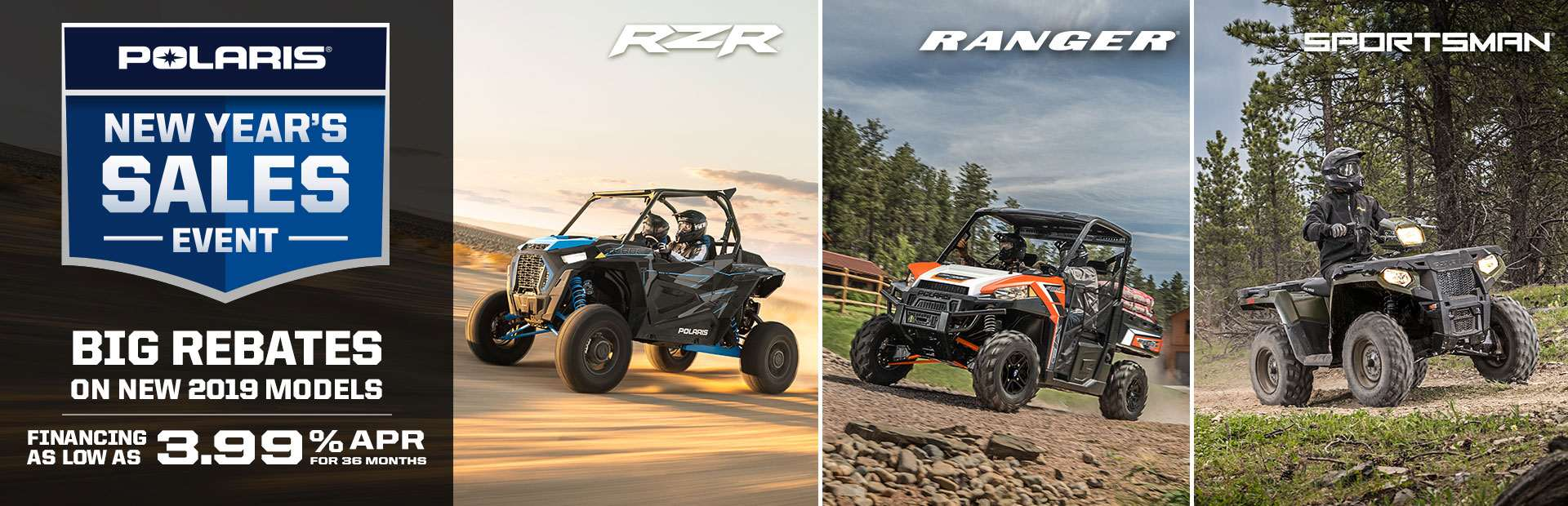 Polaris Industries: New Year's Sales Event