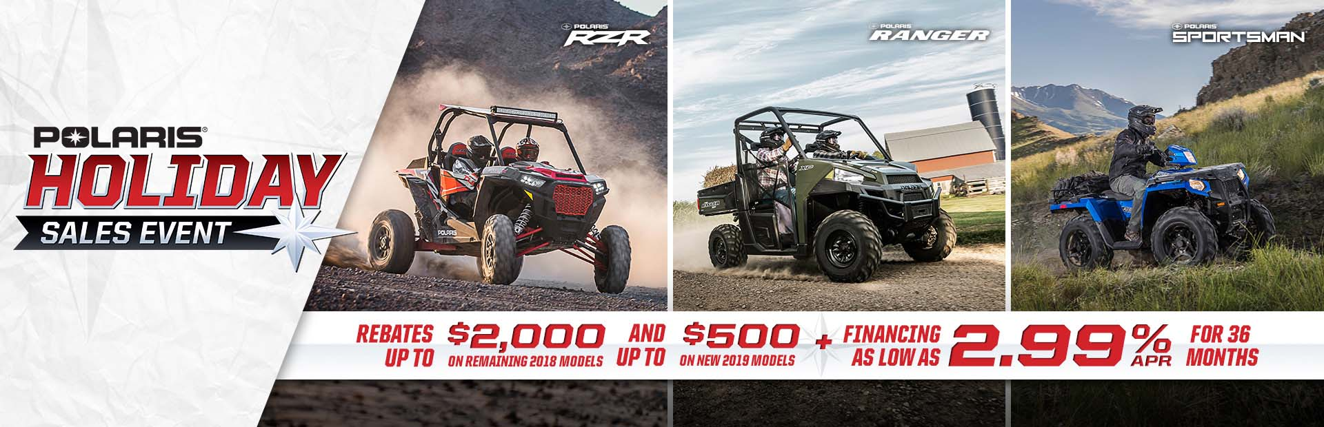 Polaris Industries: Polaris Holiday Sales Event